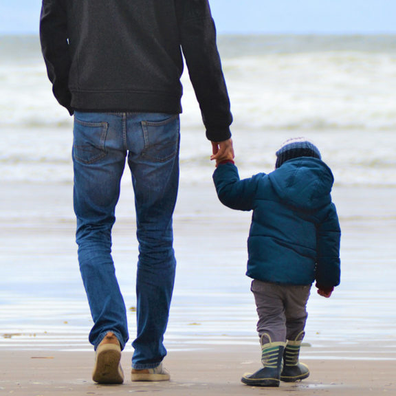Father-Son-Beach
